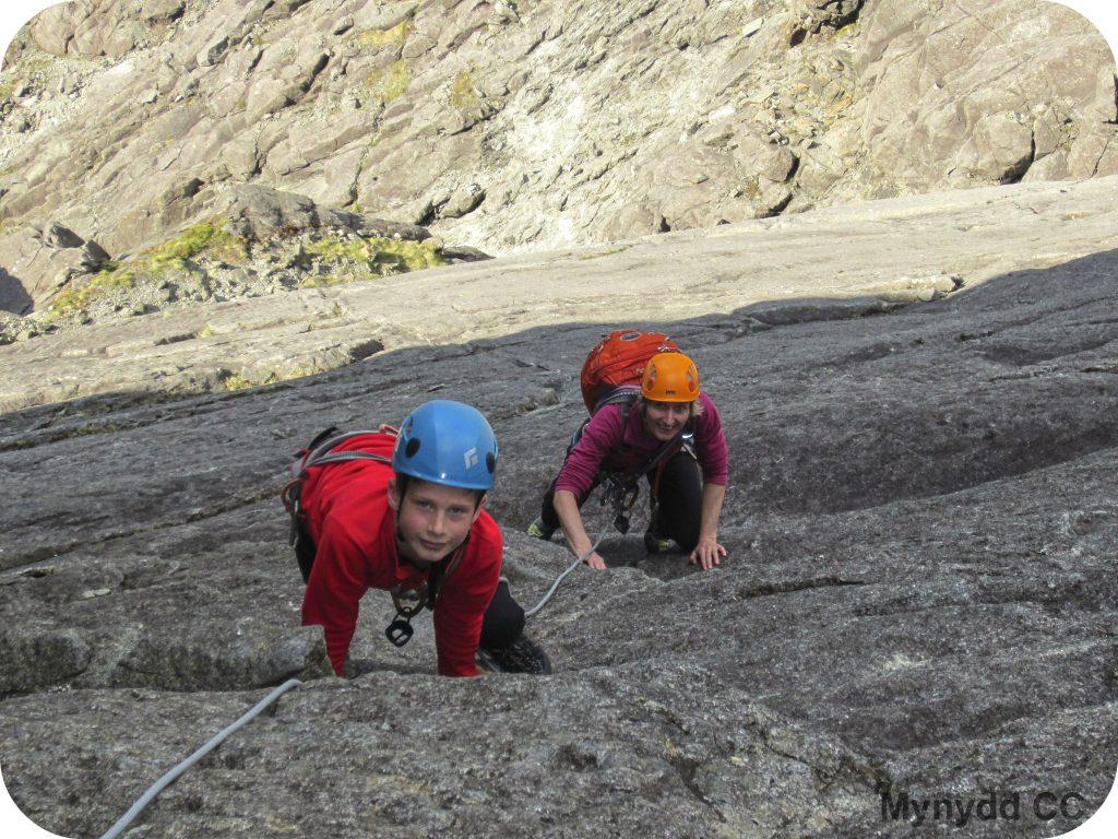 Climbing on the Cioch, Isle of Skye
