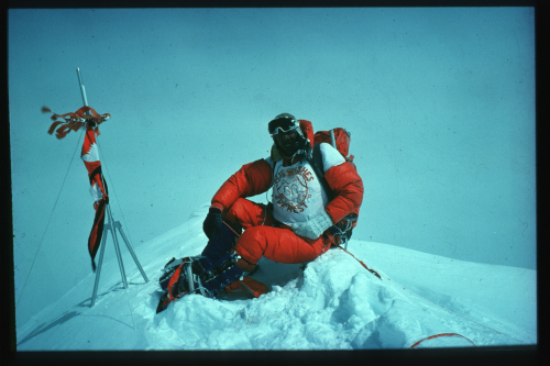 Pete Boardman Everest Summit 1975