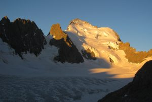 View from Glacier Blanc hut